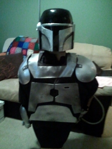 My Mandalorian armour, made for Fan Expo 2012. Yet to appear at Fan Expo...