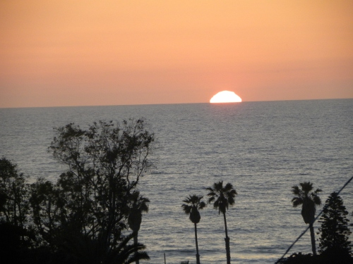 The view from our San Diego balcony March 2010
