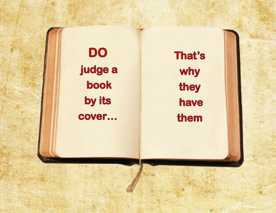 Minimalist Book Cover Quotes ~ How to judge a book by its cover