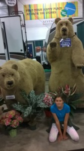 Bears who would be scarier than these ones. And the weasel...