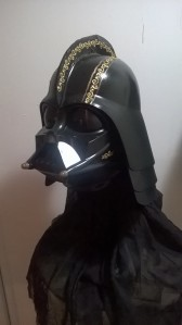 The Shakespearean Vader Helmet: Another insane project begun.