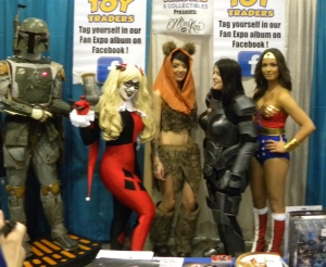Cosplay girls and Fett