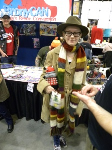 Another 4th Doctor... It's the scarf, isn't it? Or maybe the jelly babies...