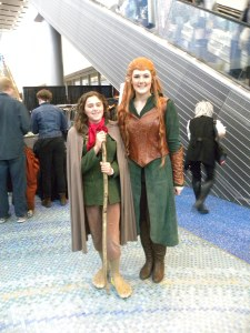 Pippin meets Tauriel.