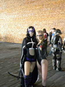 Huntress and Black Canary