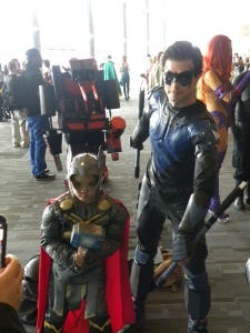 Nightwing and Young Thor