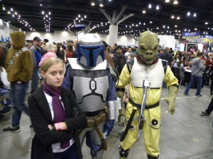 Sherlock is not impressed by Jango Fett or Bossk.