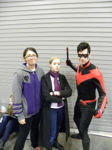 The same goes for this Nightwing.