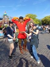 The girls found Gaston