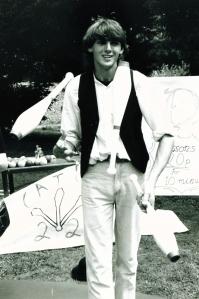 Dim at church fair july 89