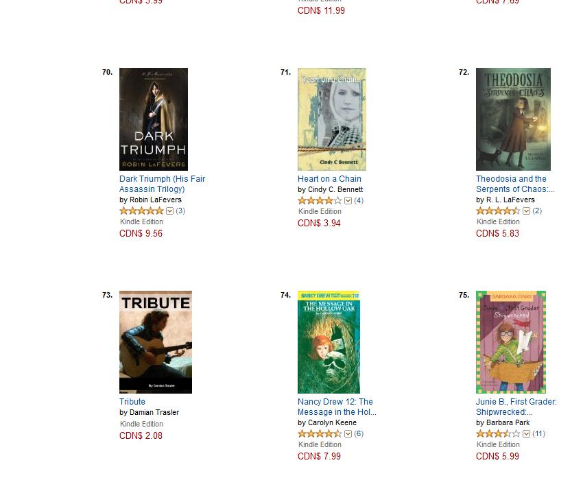 Amazon top 100
