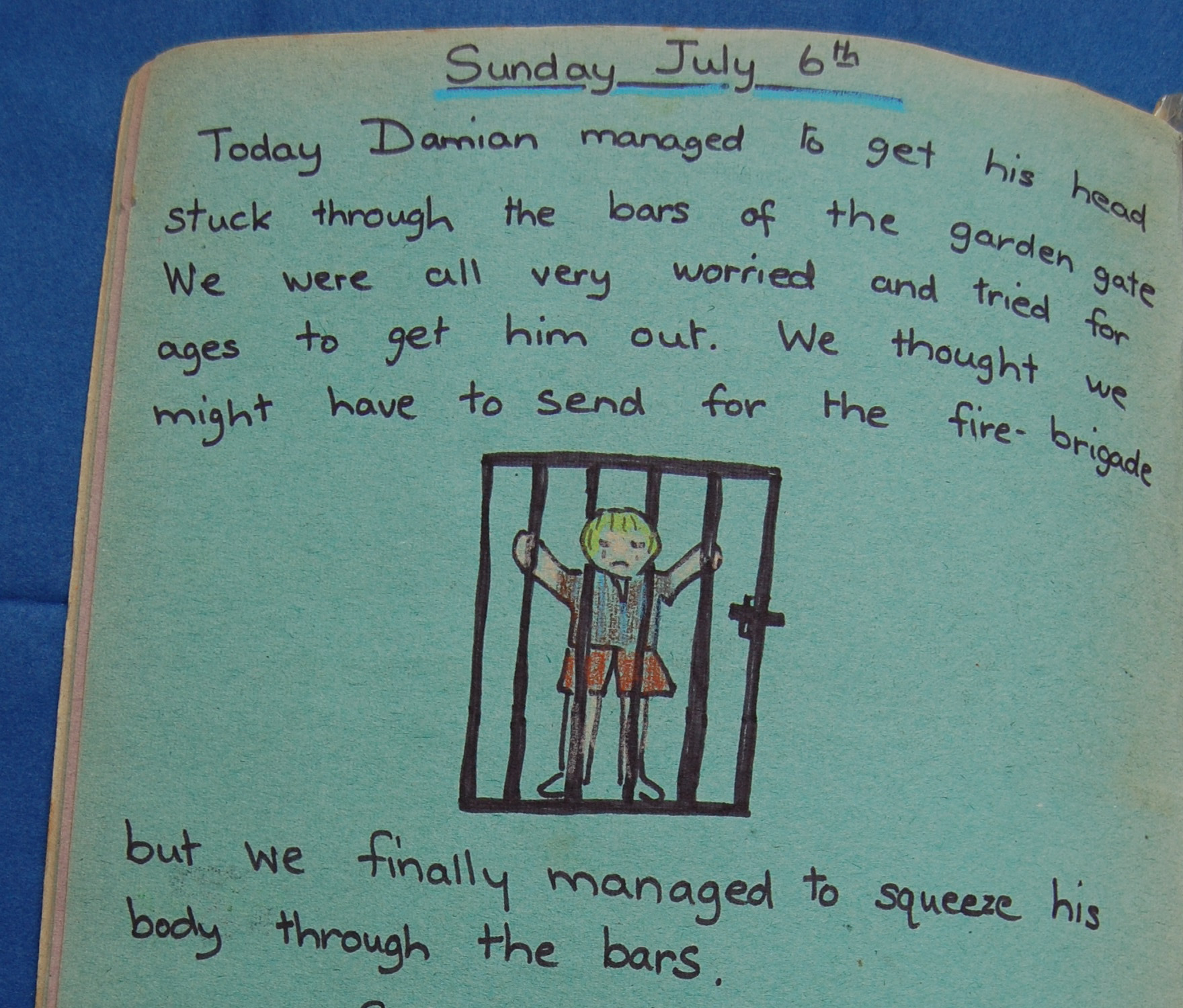 July sixth 1975